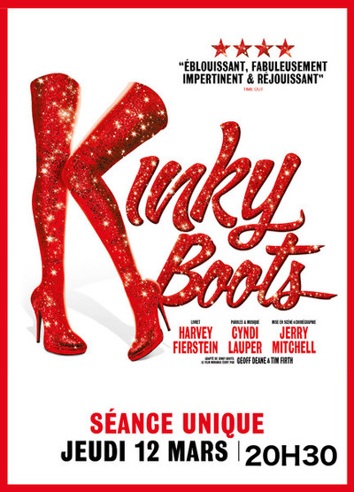 """COMEDIE MUSICALE: """"KINKY BOOTS"""""""
