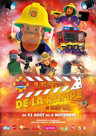 """PATHE LIVE KIDS: """"SAM LE POMPIER : LES FEUX DE LA RAMPE"""""""