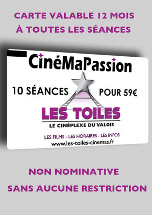 CARTE CINEMAPASSION