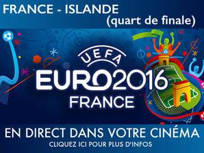 FRANCE-ISLANDE QUART DE FINALE