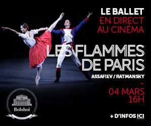 LES FLAMMES DE PARIS