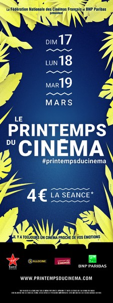 LE PRINTEMPS DU CINEMA 2019