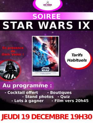 """SOIREE """"STAR WARS IX"""""""